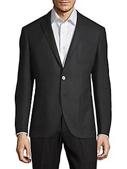 Raye5 Notch Lapel Jacket BLACK. Product image