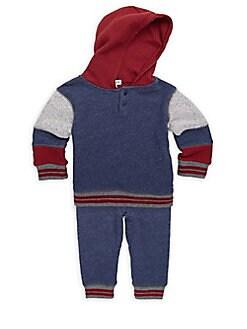 Splendid - Little Boy's Two-Piece Cotton Hoodie & Pants Set