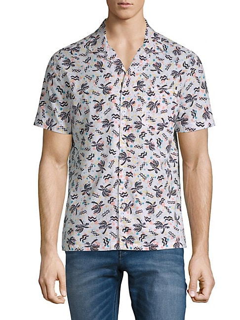 Cotton Palm Tree Shirt