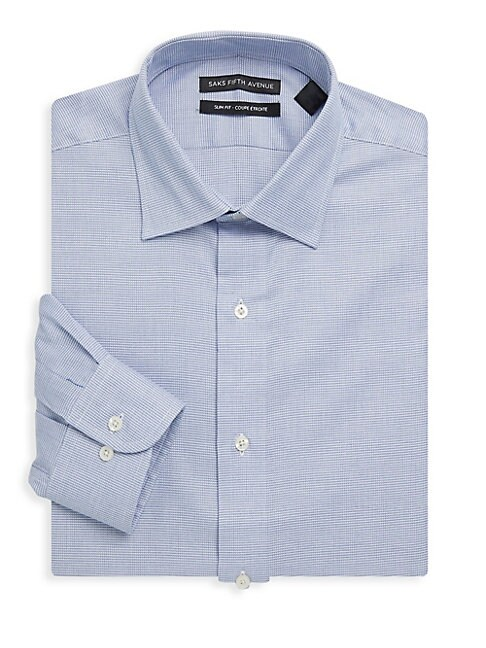 Cotton Slim-Fit Dress Shirt
