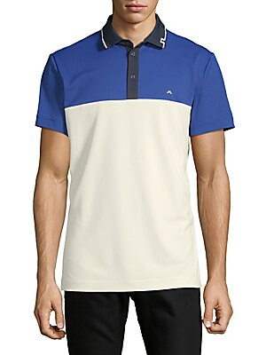Colorblock Short-Sleeve Polo
