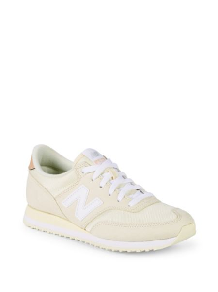 Logo Patch Low Top Sneakers by New Balance