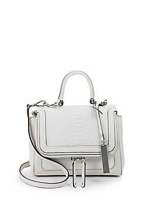 Brud Small Leather Satchel