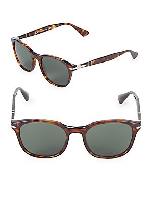 Persol 49MM Round Sunglasses