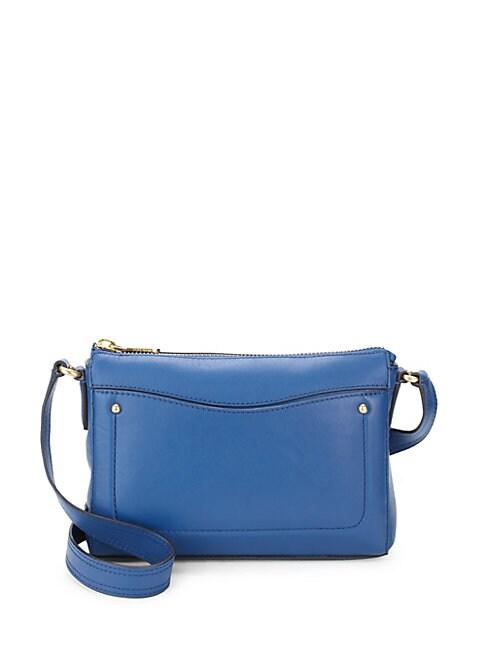 COLE HAAN | Esme Leather Crossbody Bag | Goxip