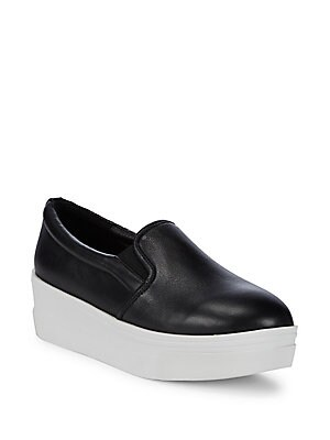 907fb093690 J SLIDES - Quilted Leather Platform Sneakers - saksoff5th.com