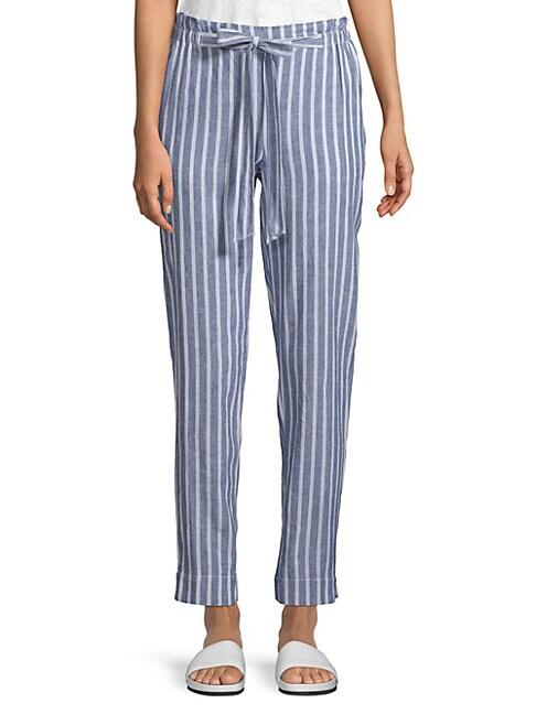 BEACH LUNCH LOUNGE | Linen Pants | Goxip
