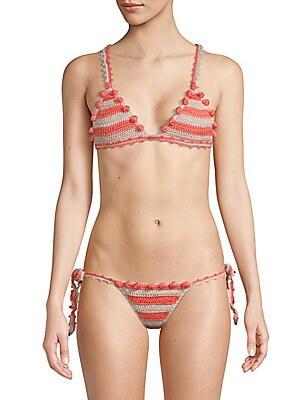 Tularosa Cora Crocheted Bikini Top