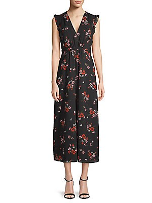 Marguerite Floral Midi Dress