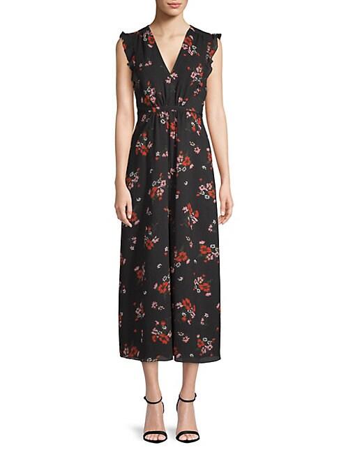 Marguerite Floral Midi Dress