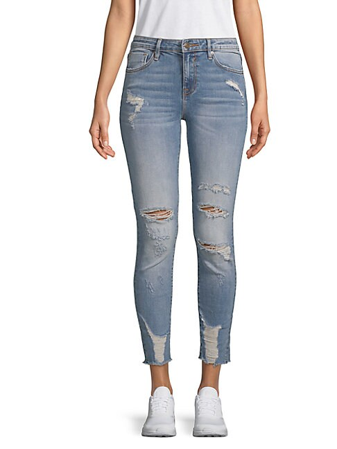 Marley Cropped Ripped Jeans