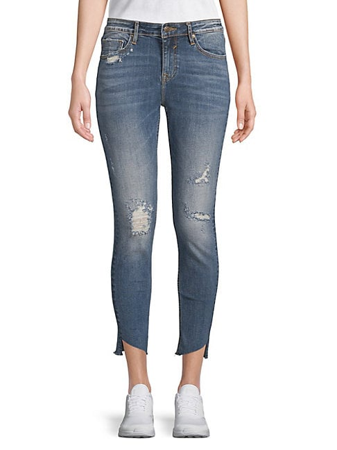 Marley Ripped Cropped Jeans