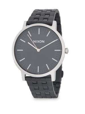 Nixon Porter Stainless Steel Strap Watch