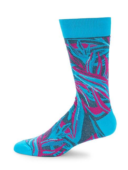 Multicolored Crew Socks