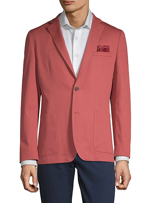 Classic Two-Button Sportcoat