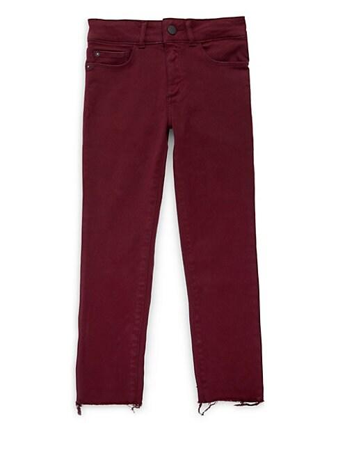 DL PREMIUM DENIM | Girl's Chloe Skinny Jeans | Goxip