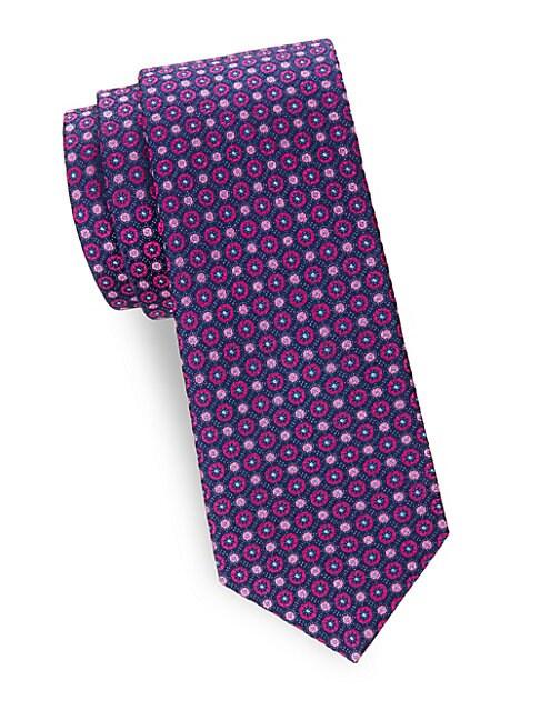 Patterned Silk Tie