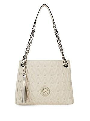 Luisa Leather Shoulder Bag