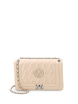 Valentino by Mario Valentino - Alice Quilted Leather Shoulder Bag -  saksoff5th.com 43321d1dd9ef8