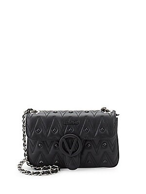 Poison Studded Leather Crossbody Bag