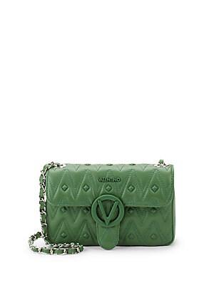 Poison Studded Leather Shoulder Bag