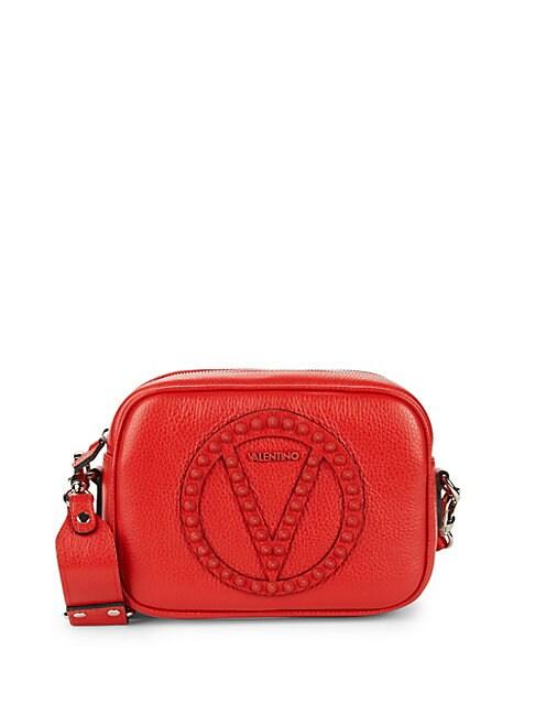 Mia Leather Crossbody Bag