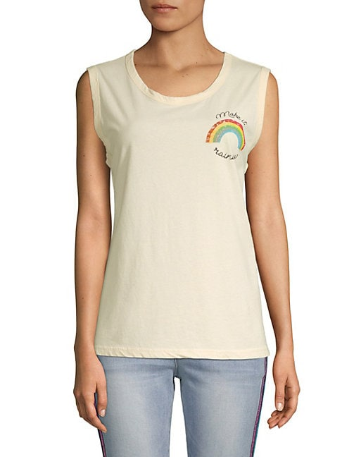Cotton Rainbow Tank Top