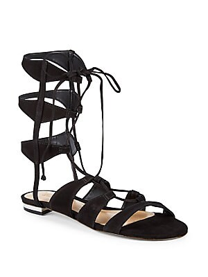 c285a2de3fc339 Schutz - Erlina Leather Gladiator Sandals - saksoff5th.com