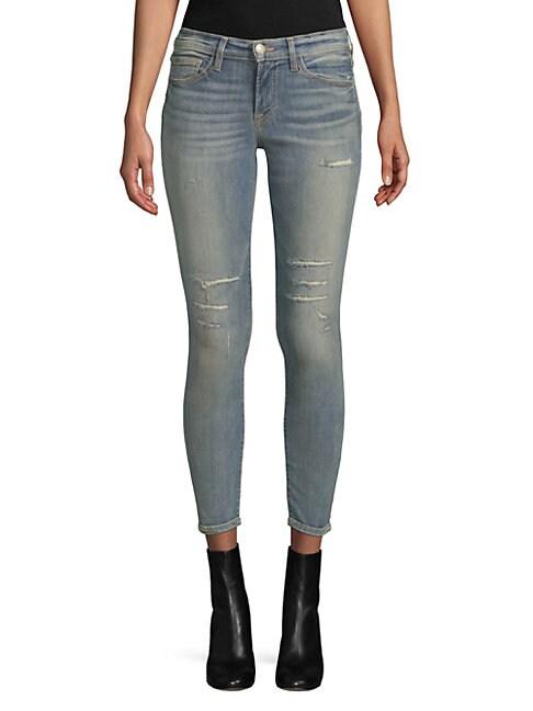 ETIENNE MARCEL   Multi-Seam Skinny Jeans   Goxip