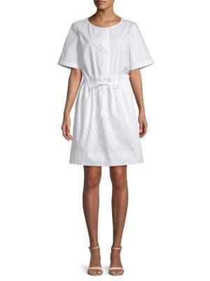 Club Monaco Senella Short-Sleeve Dress