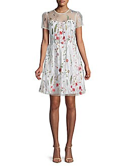 e1b110161b4 QUICK VIEW. Walter Baker. Drew Embroidered Floral Lace Dress