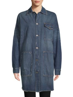 Etienne Marcel Oversized Denim Jacket