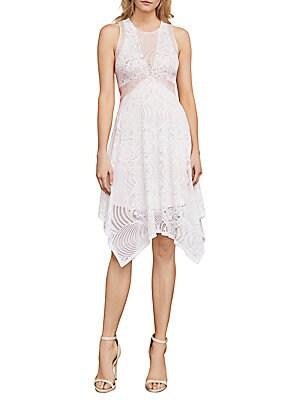 Meilani Asymmetrical Floral Lace Dress