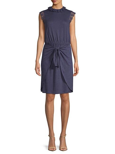 Crochet Sleeveless Linen Dress