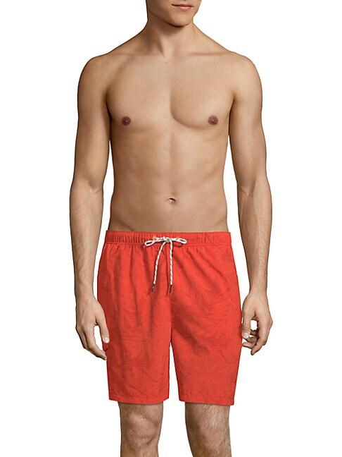 Naples Hibiscus Haze Swim Shorts