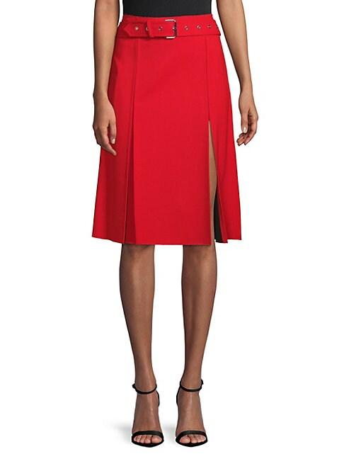 Pleated Kilt Skirt