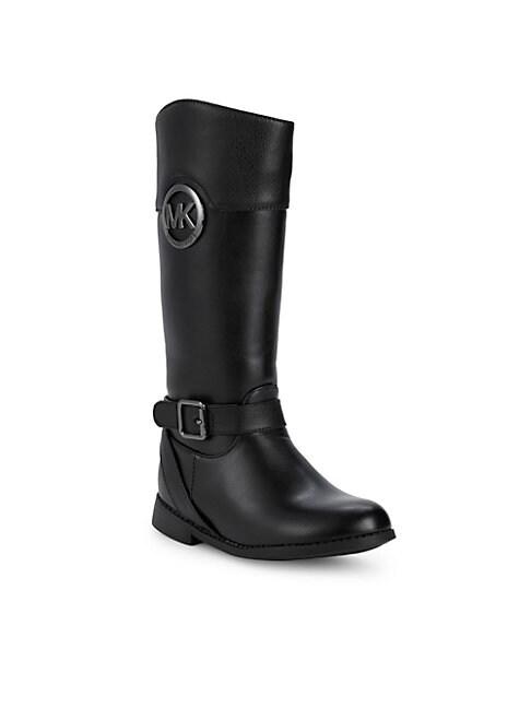MICHAEL MICHAEL KORS | Girl's Emma Moto Boots | Goxip