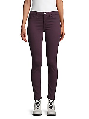 Mid-Rise Ankle-Length Skinny Jeans