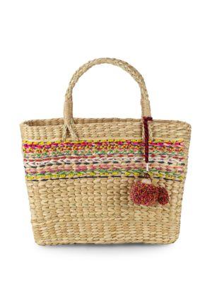 Star Mela Julia Woven Basket Bag