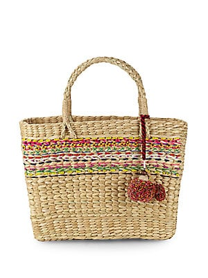 Julia Woven Basket Bag