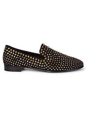 Embellished Classic Loafers