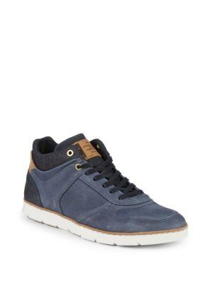 Steve Madden Baloo Suede Low-Top Sneakers