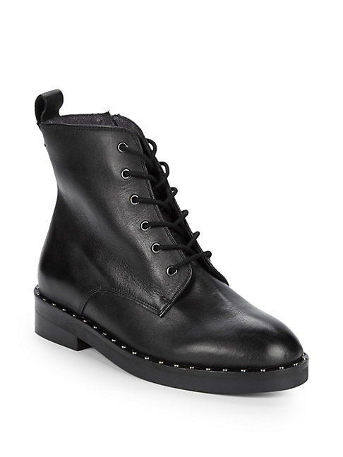 Accountability Leather Combat Boots