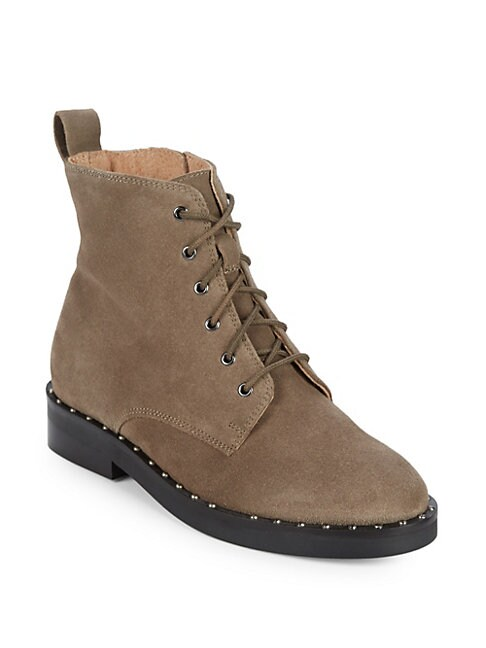 Accountability Suede Combat Boots