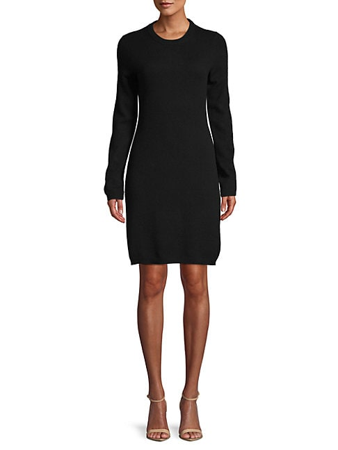 Cashmere Shift Sweater Dress