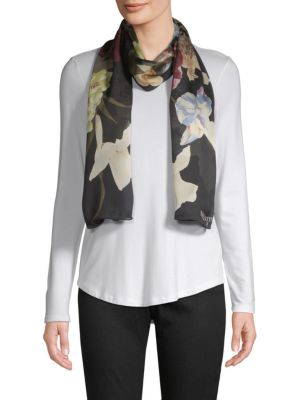 Valentino Accessories Floral Cotton Stole