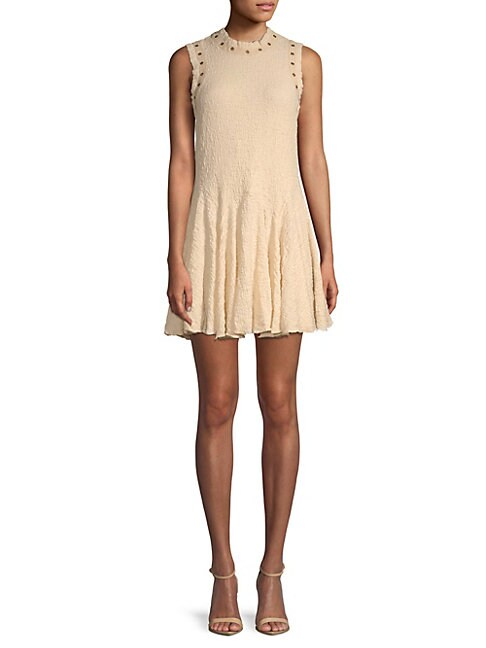 Moon River SLEEVELESS FIT-AND-FLARE DRESS