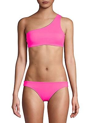 The Cindy Asymmetric Bikini Top