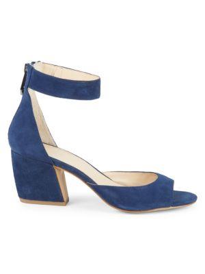 Botkier Pilar Suede Ankle-Strap Sandals