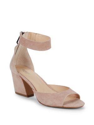 Botkier Ankle Strap Suede Sandals